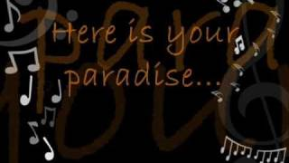 "Here Is Your Paradise  by: ""Chris de Burgh"" Lyrics"