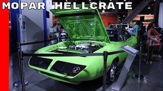 Mopar Hellcrate Supercharged Crate HEMI Engine Kit at SEMA