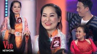 Người phụ nữ có mái tóc dài nhất Việt Nam 2 mét 4 khiến Trấn Thành thích thú
