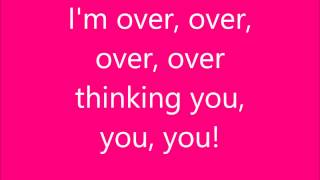Christina Grimmie - Over Overthinking You - HD Lyrycs - NO PITCH