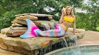 24 Hours In A Mermaid Tail   Princess Ella