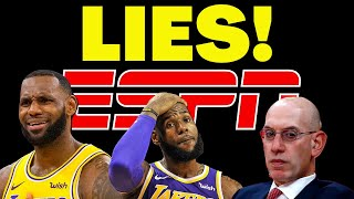 ESPN & MEDIA wildly MISLEADS Sports Fans over WOKE NBA TV RATINGS being UP???!!