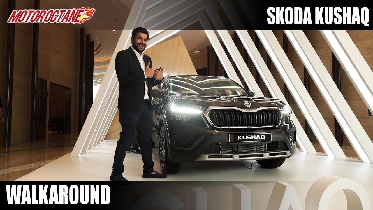 Motoroctane Youtube Video - Skoda Kushaq Walkaround - Most Detailed
