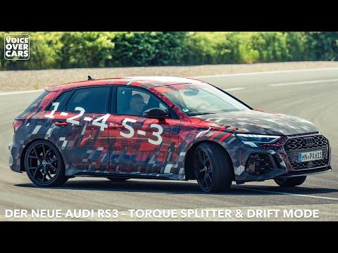 2021 Audi RS3 Sportback & Limousine Torque Splitter Drift Modus Sound | Voice over Cars News