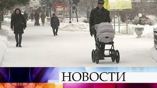 Снегопады в центральной России в ближайшие дни будут усиливаться.