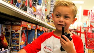 Boy Gets to Work at Target on 5th Birthday