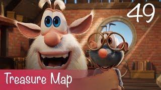 Booba - Treasure Map - Episode 49 - Cartoon for kids
