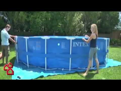 "BAUHAUS TV - Produktvideo: Schwimmbecken ""Metal Frame Pool"""