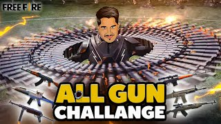 New Gun After Every Kill || Free Fire Challenge Video || Desi Gamers