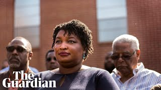 Stacey Abrams V Brian Kemp: Inside The Bitter Battle For Georgia's Soul