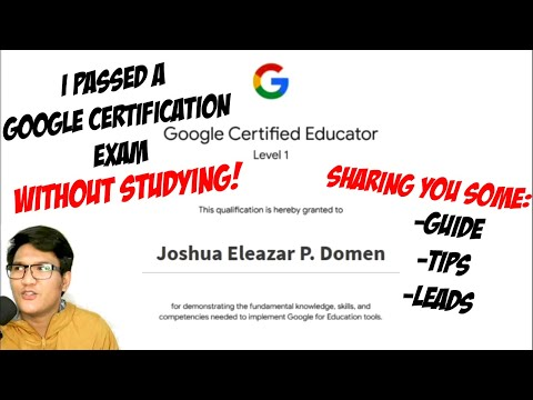 How I passed the Google Certified Educator Exam WITHOUT ...