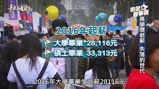 【高學歷低薪 失落的世代】華視新聞雜誌 2018.05.13