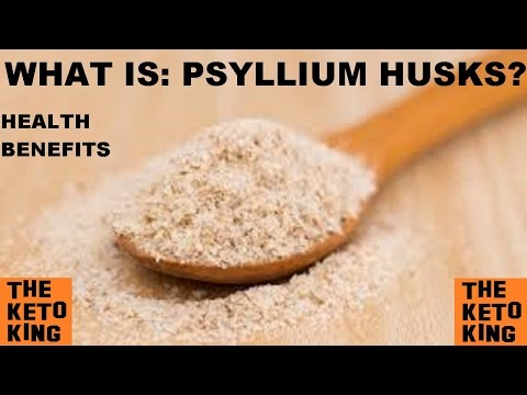 Video WHAT IS: PSYLLIUM HUSKS? | Health Benefits of Psyllium Husks | Low Carb | Keto | Banting | LCHF