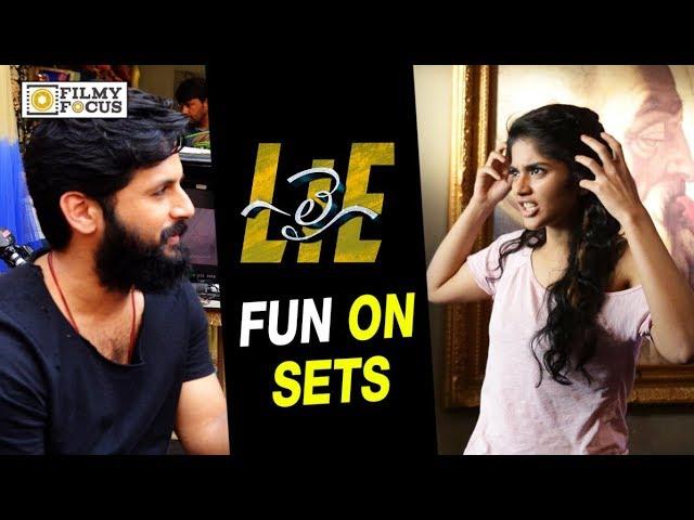 LIE Telugu Movie Making | Fun on Set | Nithin, Megha Akash, Arjun
