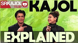 SRKajol TV Zap - Kajol explained   Shah Rukh Khan and Kajol