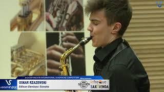 Oskar Rzazewski plays Sonata by Edison Denisov