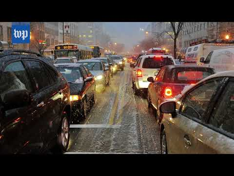 How Friday's expected snow could affect your commute home