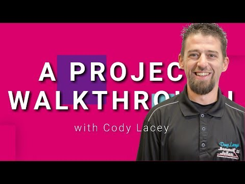 A Project Walkthrough with Cody Lacey | Doug Lacey's Basement Systems
