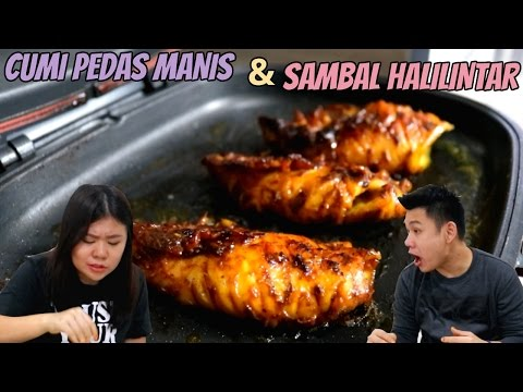 "Video CUMI BAKAR PEDAS MANIS & SAMBAL HALILINTAR ""PEDASNYA SANGAR"""