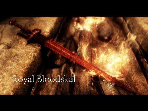 """Skyrim - Уникальное оружие """"Бладскал"""""""