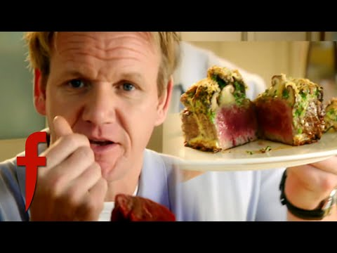 Fillet of Beef with Mushroom Gratin | Gordon Ramsay's The F Word Season 2