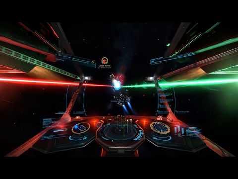 Elite Dangerous - Krait back Console Details (VR) - смотреть