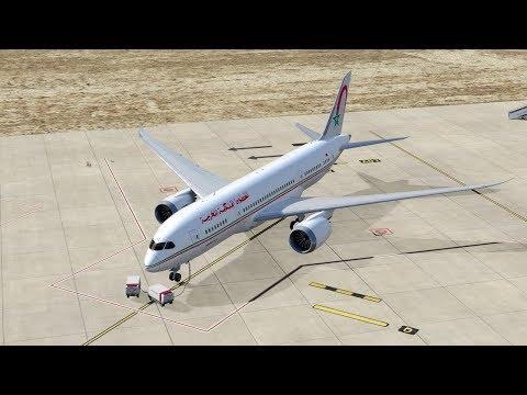 P3Dv4 4] PMDG B773 Swiss Air [HB-JNH] Dusk Landing in Hamburg