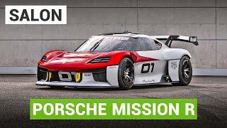 La Porsche Mission R électrifie le salon de Munich