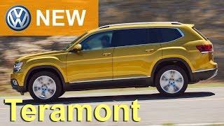 Volkswagen TERAMONT 2018 СКОРО В РФ - обзор Александра Михельсона  Фольксваген Терамонт / ATLAS 2018
