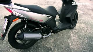preview picture of video 'Kymco Agility City 125, opinie Skuterowo.com'