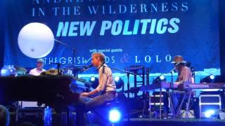 2015 11 18   Terminal 5  Andrew McMahon in The Wilderness   Black and White Movies   Soundcheck