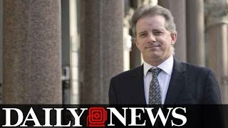 Former Spy Gave Trump Dossier To British Security Official
