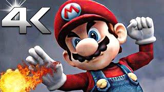 All Cutscenes in Super Smash Bros Brawl (4k Ultra HD Animation Movie) + All Characters