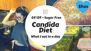 What I Eat In A Day - Non Vegan Candida Diet