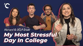 youtube video thumbnail - Harvard and UCLA Grads: My Most Stressful Day In College