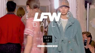 LFW September 2017 | Day 2 Highlights with Adwoa Aboah
