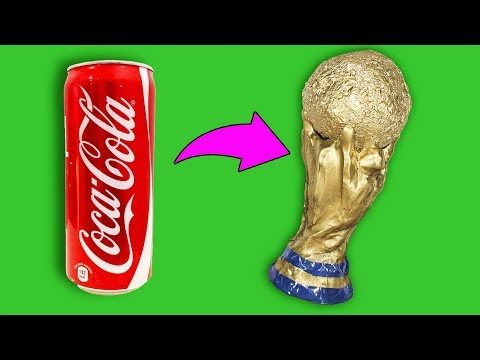 Coca Cola Life Hacks - How To Make The World Cup Trophy