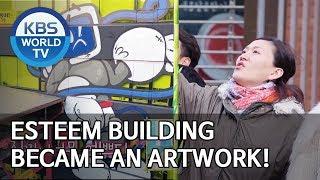 ESteem building became an artwork! [Boss in the Mirror/ENG/2020.02.23]