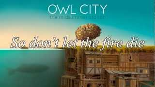 Owl City - Embers [Lyrics]