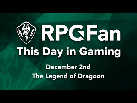 This Day in Gaming - December 2 - The Legend of Dragoon