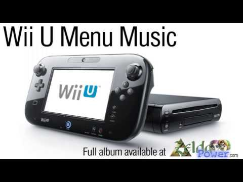 The Wii U's Menu Music Is New-Age Synthesised Bliss