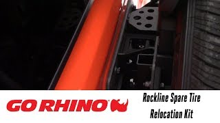 In the Garage™ with Total Truck Centers™: Go Rhino Rockline Spare Tire Relocation Kit