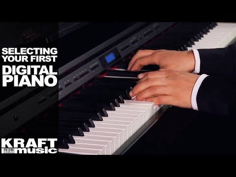 Selecting Your First Digital Piano