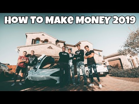 HOW TO HAVE FUN & MAKE MONEY IN 2019