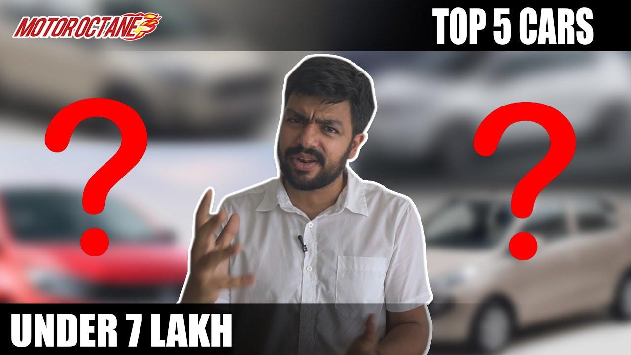 Motoroctane Youtube Video - Top 5 Cars under Rs 7 lakhs | 2020 India | Hindi | Motoroctane