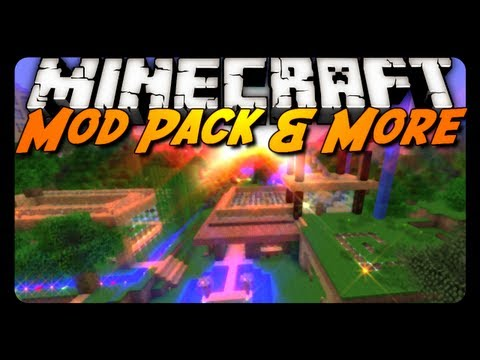 Minecraft Mod Review: ANTVENOM MOD PACK!? - BWG4 Review - Peaceful Map Update!