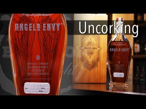 Uncorking Angel's Envy Cask Strength Bourbon Finished in Port Wine Barrels
