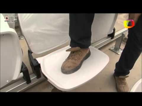 Corinthians garante cadeiras à prova de vandalismo na Arena