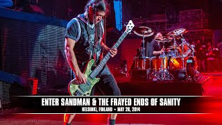 Металлика (Metallica) - Metallica: Enter Sandman & The Frayed Ends of Sanity (MetOnTour — Helsinki, Finland — 2014)