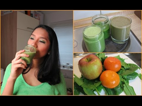Video 3 Resep Jus Bayam Lezat / Cara Membuat Jus Sayur Enak/ Green Smoothie